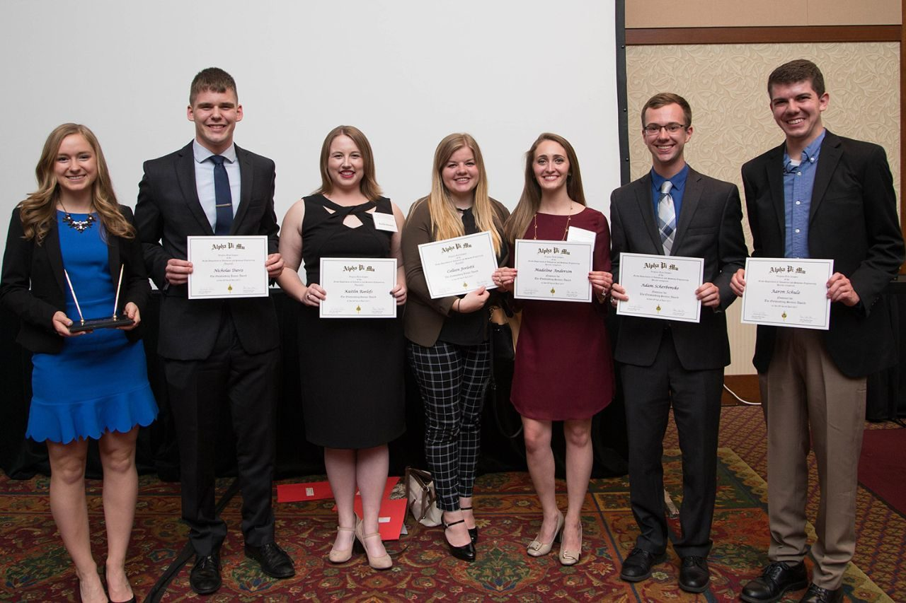 Undergraduate Award winners