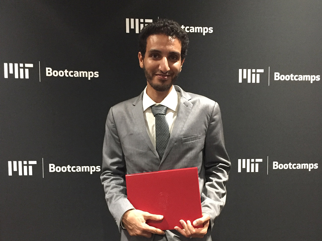 Mohammed Baaoum at MIT Innovation & Entrepreneurship Bootcamp