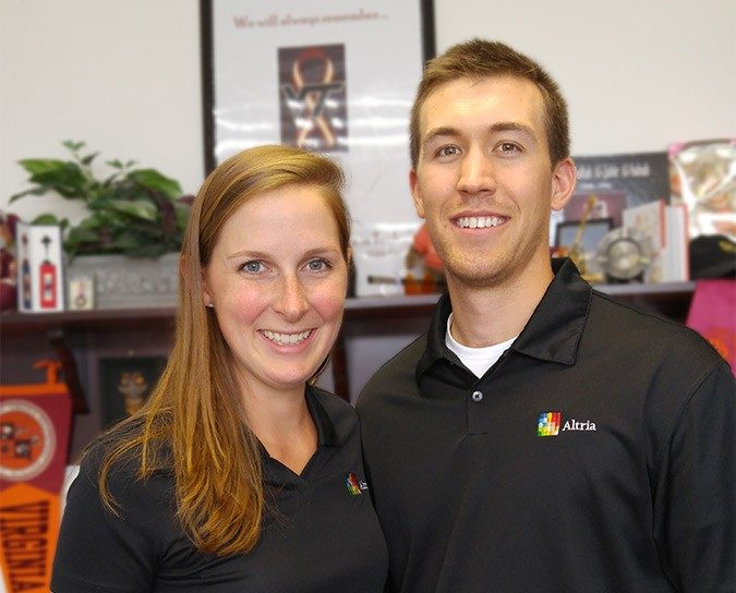 Laura Gray Coleman (Class of 2012) and Alex Sauer (Class of 2013)