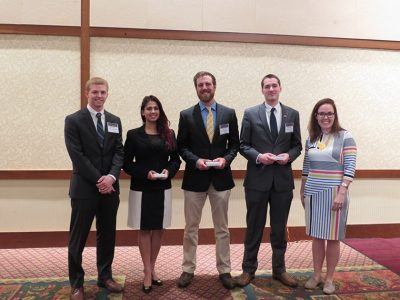 """Application of ISE Tolls and/or Methods"" Award - Teaim 28: David William Bohn, Sean Murphy, Tanya Sarah, Eric Smith. Advisor: Dr. Douglas Bish."