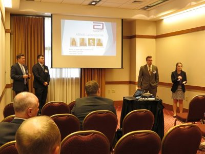 Presentation by Team 42 (Lance Altizer Jr., Leighton Bennett, Andrew McCann, Ellen Wengert)