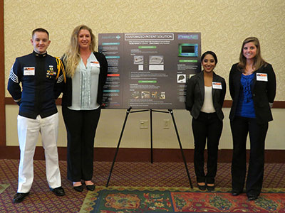 Team 5 with Poster