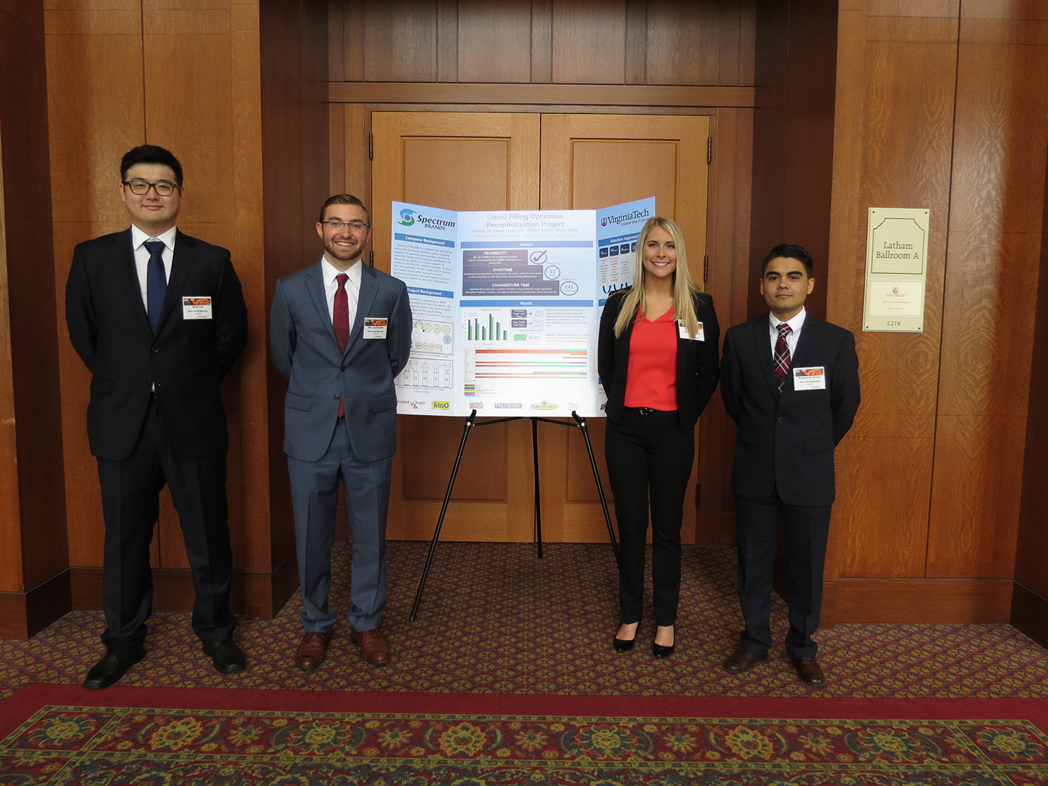 Robson De Souza, Insup Lim, William Scherr, Alexis White