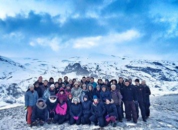 GREEN Program participants in Iceland, January 3rd – 10th.